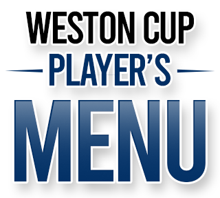 Weston cup players menu